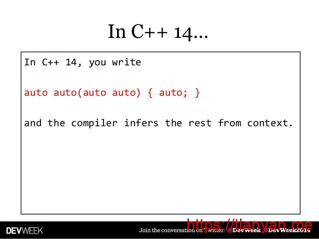 modern c++ 14